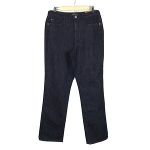 Coldwater Creek Jeans Classic Fit Shape Me 12 Dark
